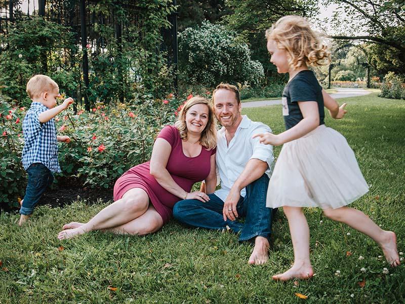 Séance famille au Jardin Botanique