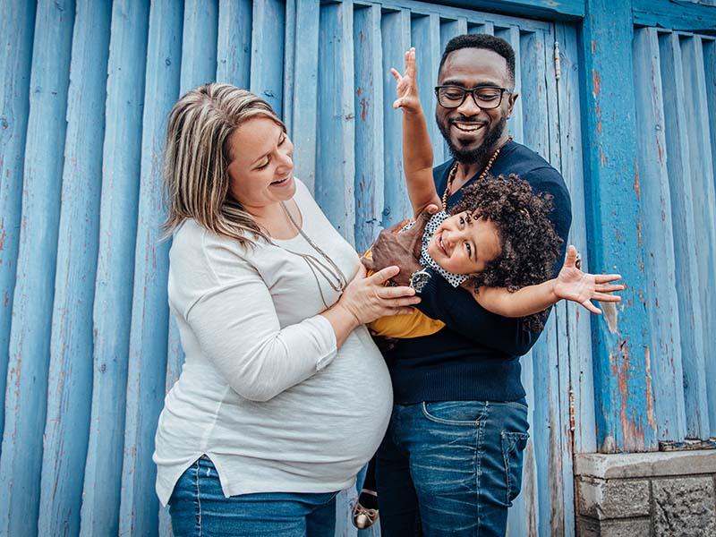 séance maternité famille au Jardin Botanique