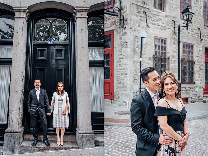 Engagement session in Old Montreal