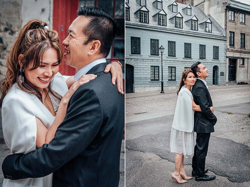 Engagement session in Old Port
