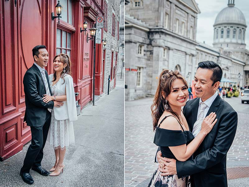 e-session in Old Montreal