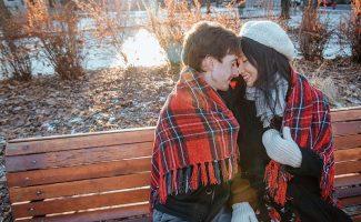 séance de fiançailles à Montréal Québec