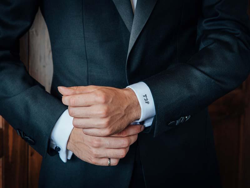 Préparation du marié au Grand Lodge Mont-Tremblant