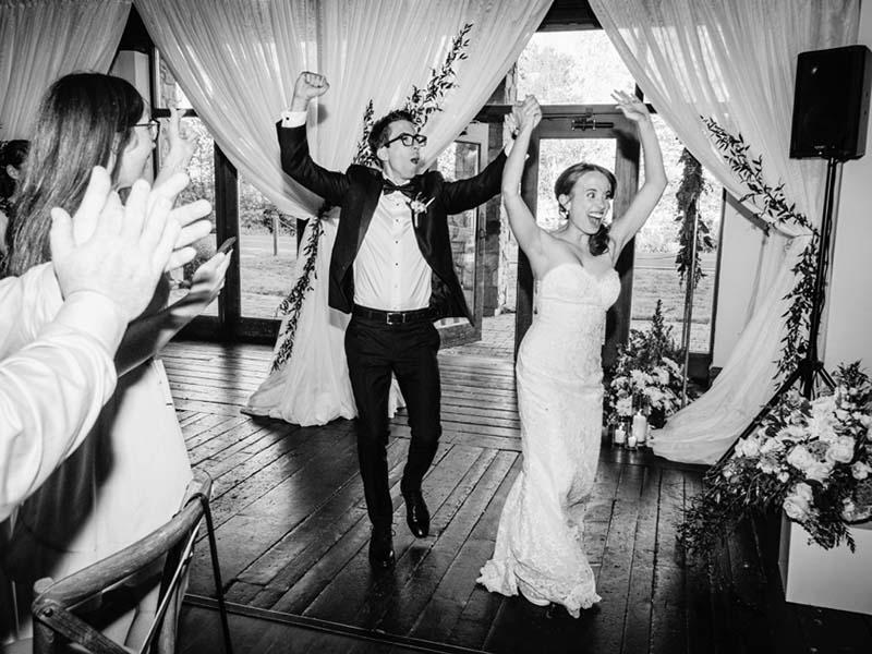 réception de mariage à Mont-Tremblant