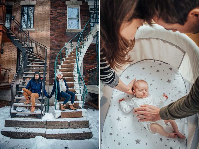 photographe maternité et nouveau-né à Montréal